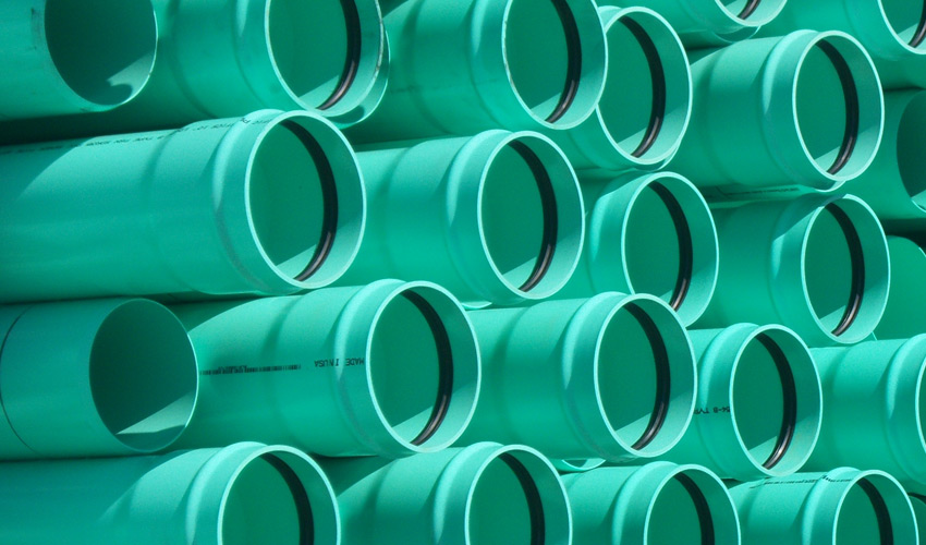 Sdr 35 Pipe : Pacific plastics inc sewer sdr green gasketed